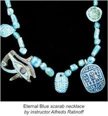 Smithsonian Associates has been educating and entertaining audiences for more than 50 Years. Turquoise Necklace, Beaded Necklace, Pendant Necklace, Ancient Egyptian Jewelry, Egyptian Pharaohs, Cold Porcelain, Art Studios, Sculpting, Clay