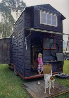Two stories on wheels!  #Caravan #Tiny Home #Small Spaces