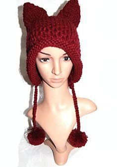 e3655432bf5 The Knitted Cat Ear Beanie. Fox EarsKnitted CatCute FoxWinter Hats ...