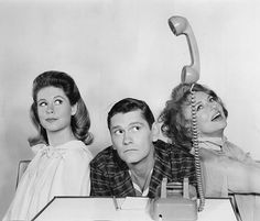 Elizabeth Montgomery, Dick York & Agnes Moorehead, Bewitched 1967