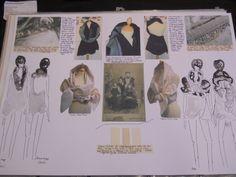 Fashion Sketchbook - fashion drawing & idea gathering for design development