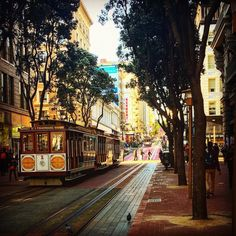 #sanfran #sanfrancisco #cali #California #cablecar #travel by travellinghua