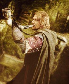 The horn of Gondor!