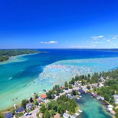Michigan& Torch Lake Looks Like Caribbean Sea - Simplemost Vacation Places, Vacation Trips, Dream Vacations, Vacation Spots, Places To Travel, Places To Go, Vacation Ideas, Travel Destinations, Lake Vacations