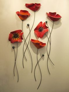 N-18 S+M Παπαρούνες Poppies