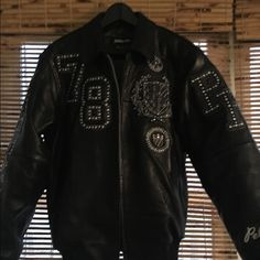 Pelle pelle Men leather jacket size medium To be badged or mark with the highest honor pelle pelle badged royal jacket makes a distinctive impact that will leave a lasting impression jacket stunning May I say more Pelle pelle Jackets & Coats Jean Jackets