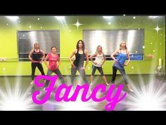 """▶ """"Fancy"""" by Iggy Azelea: Diva Dance Fitness - YouTube"""