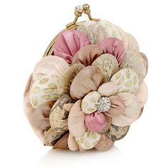 Boudoir Crazy Corsage Hand Held Bag