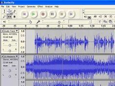 Removing noise from an MP3 file...Audacity: A walk through on the basics of editing audio using Audacity