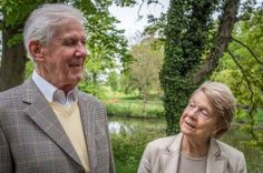 """""""We've been married for 57 years. He's always been able to provide, which meant I've never had to work, even when times were tough."""" #marriage #england #tough"""