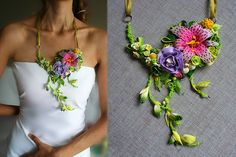 Naturally In Love - Necklace (Bridal Jewelry Collection) by VeruDesigns, via Flickr