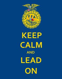 FFA :) One of the most important things of FFA is being a leader. FFA isn't all about Sow, Plows, and Cows. It's about developing the leadership skills of our lives.