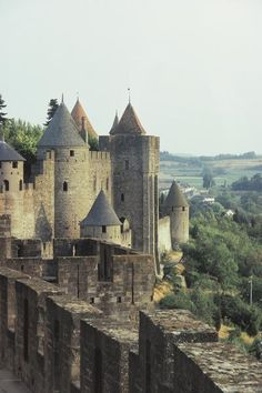 Carcassone - France. I have been here. You MUST put this one on your bucket list!