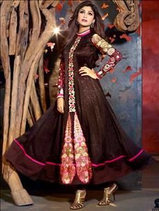 Dress Material - Buy Anarkali Suit online | www.verronicca.com