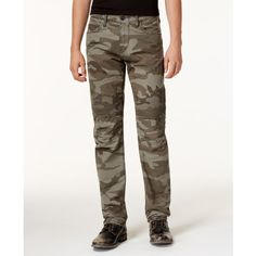 True Religion Men's Camo-Print Moto Jeans ($249) ❤ liked on Polyvore featuring men's fashion, men's clothing, men's jeans, camo, mens motorcycle jeans, true religion mens jeans, mens camouflage jeans, mens camo jeans and mens jeans