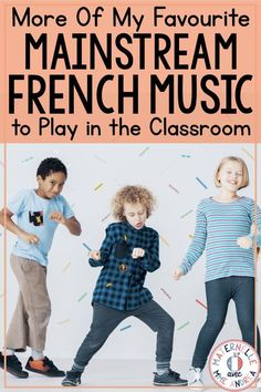 Mainstream French music is great to play during class time in primary immersion or francophone classrooms in minority communities. Expose your students to authentic French culture and get them excited about French celebrities and music with these 10 great songs! #maternelle #francophone #musiquefrancophone French Songs, French Movies, French Stuff, French Quotes, French Teaching Resources, Teaching French, French Lessons, Spanish Lessons, How To Speak French