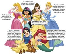 My #1 problem with Disney Princess movies right here.