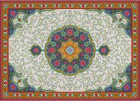 Gallery.ru / Фото #5 - Floral Carpet (Latch Hook) - azteca