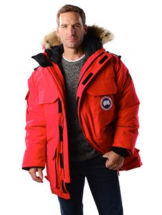 Canada Goose' Women's Expedition Parka Red Size M