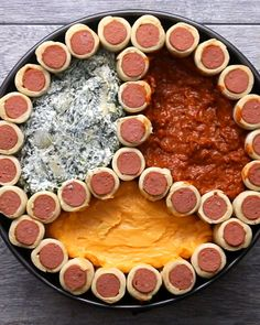 Pigs In A Blanket Stadium Recipe by Tasty