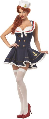 My costume - Nautical Doll Sailor Costume - Sailor Costumes