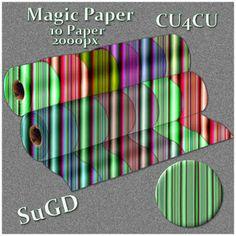 Dagny`s Scrap und Grafik Design: CU4CU  Magic Paper  2000x2000px