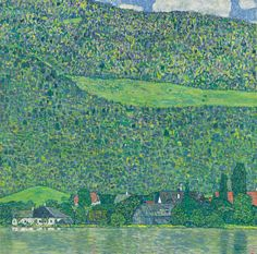 Litzleberg Am Attersee by Gustav Klimt | Art Posters