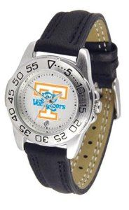 Tennessee Volunteers Vols UT Women's Leather Band Athletic Watch SunTime. $49.95
