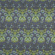 Tula Pink - Moon Shine - Dear Me in Indigo by Bobbie Lou's Fabric Factory (deer, antlers, navy)