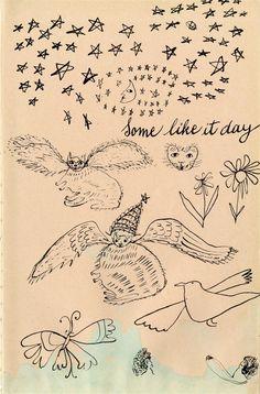 ANDY WARHOL & JULIA WARHOLA - Holy Cats: Some Like It Day
