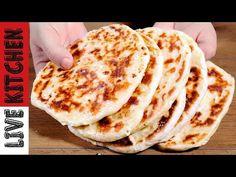 Τηγανιτή τυρόπιτα χωρίς λάδι και αυγά: Ποιος σας είπε ότι η τυρόπιτα χρειάζεται απαραίτητα λάδι και αυγά; Δείτε πως να την φτιάξετε γρήγορα στο τηγάνι Good Food, Yummy Food, Delicious Recipes, Bulgarian Recipes, Bread Rolls, Greek Recipes, Kitchen Living, Tasty Dishes, Bakery