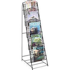 Superieur Magazine Rack   Put Sign Up Clipboards Here? Staples $50