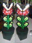 Mario plant perler beads