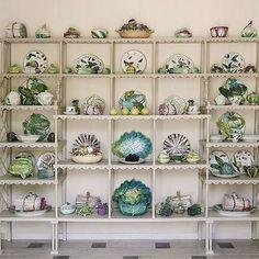 A sampling of Bunny Mellon's 18th and 19th century #porcelain vegetable, fruit, and botanical #servingware via @sothebys Just stunning!