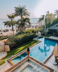Luxurious living at the Sofitel Dubai The Palm Resort. Palm Resort, Resort Spa, 5 Star Resorts, Hotels And Resorts, Sofitel Hotel, Timber Pergola, Beach Cabana, Palm Jumeirah, Luxury Pools