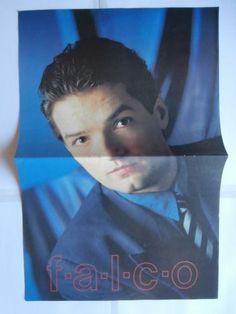 Falco Big Poster Greek Magazines clippings 80s | eBay