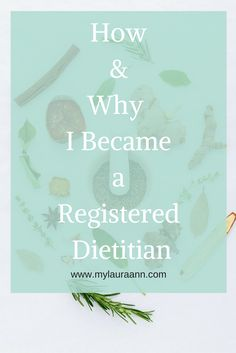 Interested in a career as a Dietitian? Click to read how and why I became a Registered Dietitian along with tips to discover if this career path is right for you.