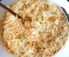 Salát Coleslaw II Low Carb Recipes, Vegetarian Recipes, Modern Food, Coleslaw, Bon Appetit, Macaroni And Cheese, Catering, Good Food, Food And Drink
