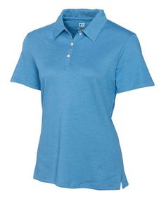 Look what I found on #zulily! Sea Blue DryTec Resolute Polo - Women & Plus by Cutter & Buck #zulilyfinds