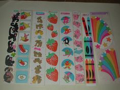 Vintage Collectible Cardesign TOOTS 80s Stickers big LOT rares good condition in Crafts | eBay