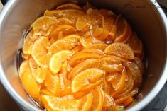 gelée de clémentines b Snack Recipes, Snacks, Grapefruit, Chips, Tri, Desserts, Orange, Candied Fruit, Preserves