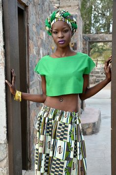 RESERVED Green Exotic Multi-Symbol African by treasureeutopia