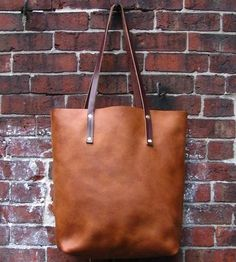 Tan Leather Tote by Rare Bird on Scoutmob Shoppe