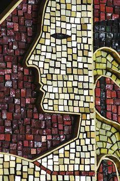 """Man- Creator of Order and Disorder"", by art history professor emeritus James Watrous, UW-Madison"