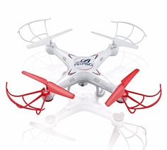 Akaso X5C 4CH 6-Axis Gyro Headless RC Quadcopter with HD Camera, 360-degree 3D Rolling Mode RC Drone (Bonus