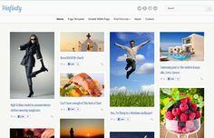4 Free Pinterest like Blogger Templates 2012