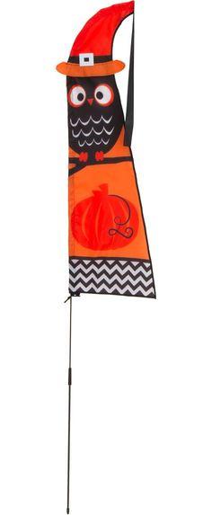 outdoor halloween flags