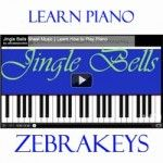Learn how to play Easy Piano song, Jingle Bells, for this Christmas, comes with Free downloadable sheet music, and a free Virtual Piano for practicing song at http://www.zebrakeys.com/blog/2009/10/free-christmas-sheet-music/#jinglebells and more songs: Up On The Housetop, We Wish You A Merry Christmas