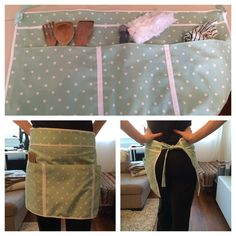 Apron pocket skirt for house cleaning days! Cleaning Day, Apron Pockets, Skirts With Pockets, Clean House, Sewing, Crochet, Fashion, Moda, Dressmaking