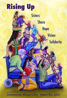International Women's Day March 8. every year. International Women's Day Poster from 2012.